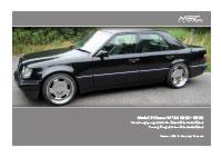 W124 Preisliste