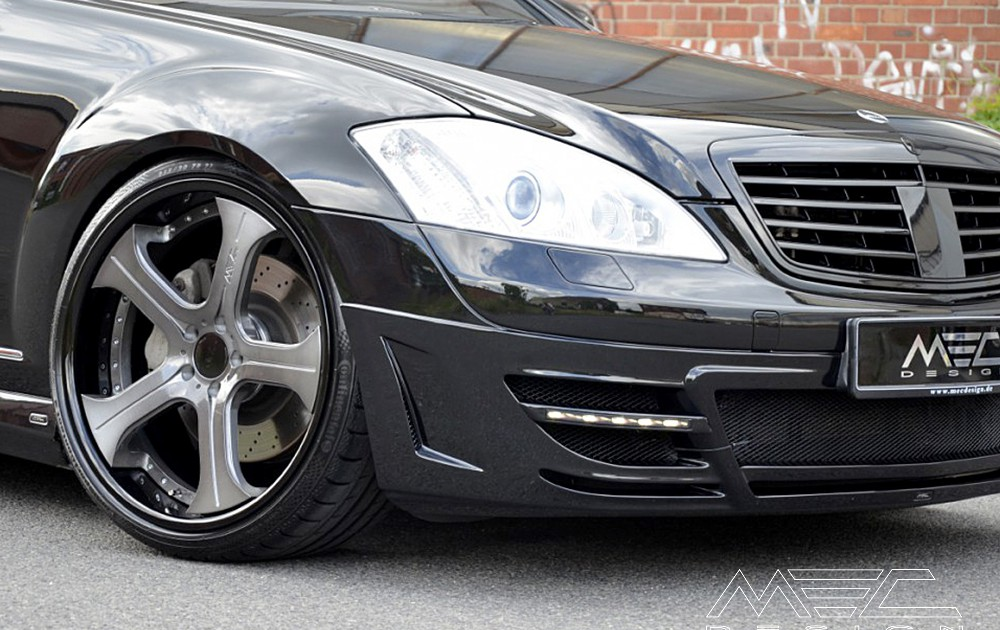 W221 V221 S-Class Mercedes Tuning AMG Bodykit Wheels Exhaust Spacer Carbon