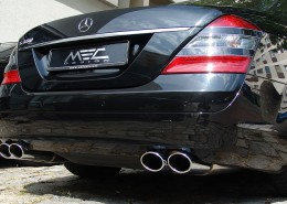MEC Design with Sports rear muffler (none AMG)