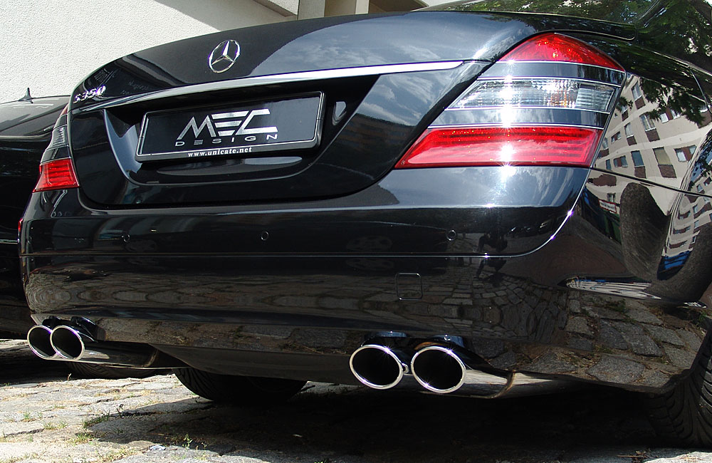 Powerful Exhaust Systems for your Mercedes Benz W221