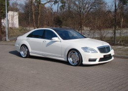 S450 with MEC Design mecxtreme1 3piece wheels in Polish