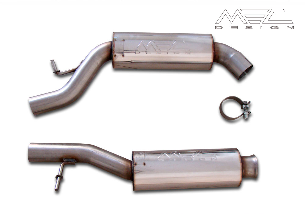 Powerful Exhaust Systems for your Mercedes Benz W220