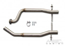 MEC Design Rear Muffler for W215 S500 Exhaust