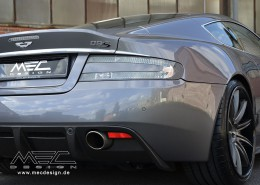 """MEC Design Aston Martin DBS """"Royale"""" with CCD10 10Jx21 and 12Jx21 wheels"""