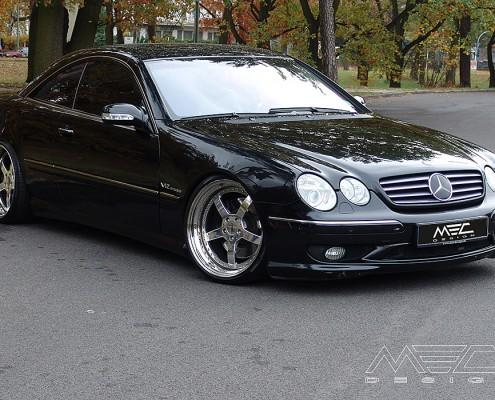W215 C215 CL Mercedes Tuning AMG Bodykit Felgen Auspuff Spurverbreiterung CarbonmecxtremeII wheels