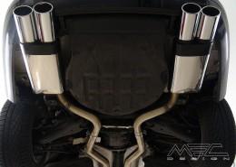 MEC Design Sport-Endschalldämpfer für W216 CL500+-CL600
