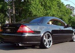 W215 C215 CL Mercedes Tuning AMG Bodykit Felgen Auspuff Spurverbreiterung Carbon