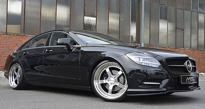 CLS500 with mecxtreme2 wheels