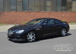 MEC Design BMW 6 Series with CC5 wheels
