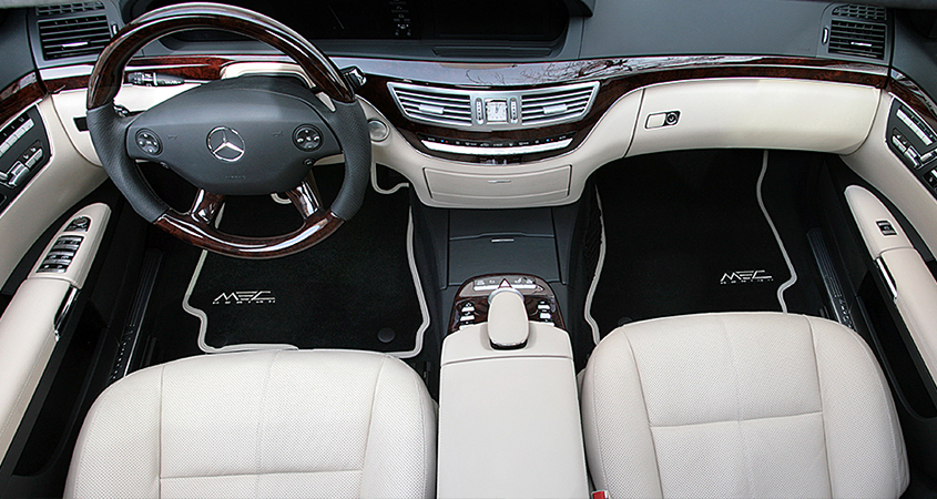 Noble Interior For Your Mercedes Benz W221
