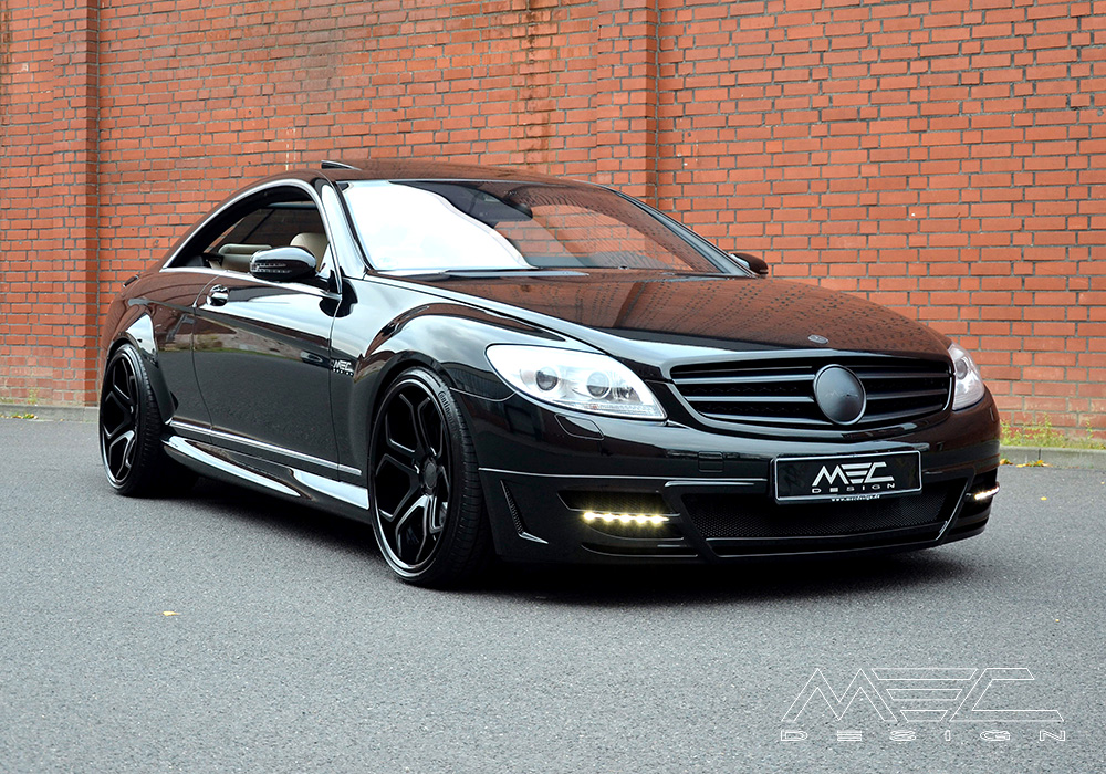 Mercedes C Class Coupe Amg Body Kit