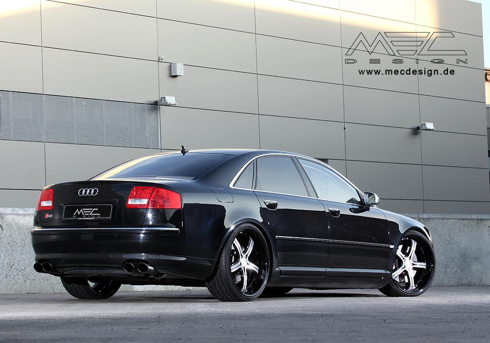 Audi S8 mecxtreme3 3 piece wheels - MEC Design