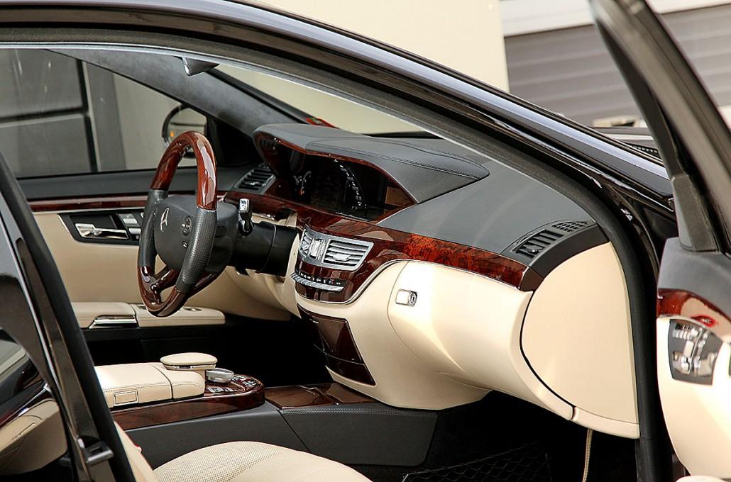 Edles Interieur F R Ihren Mercedes Benz W221