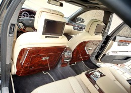 W221 V221 S-Klasse Mercedes Tuning AMG Interior Carbon Leder