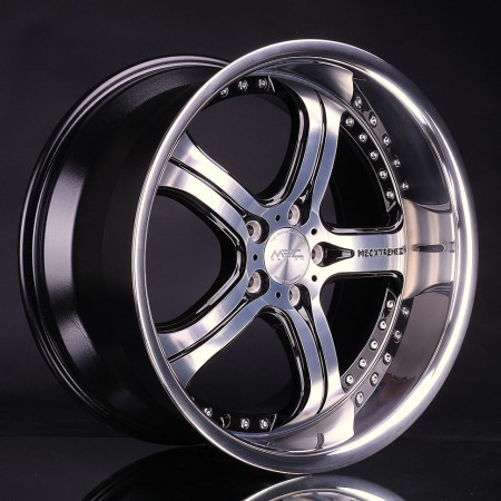 mecxtreme3 one piece wheel in Satin Black finish