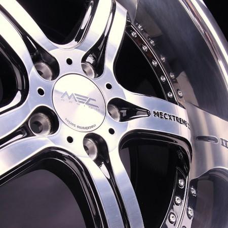mecxtreme3 one piece wheel in Satin Black finish