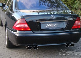W220 V220 S-Class Mercedes Tuning AMG Bodykit Wheels Exhaust Spacer Carbon