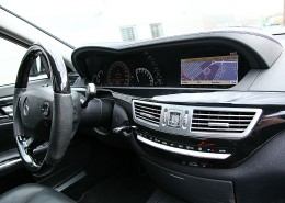 W221 V221 S-Class Mercedes Tuning AMG Interior Carbon Leather