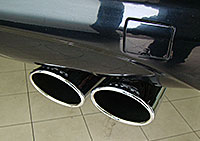 W220 S Class Exhaust