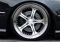 MEC Design W215 CL Class Wheels