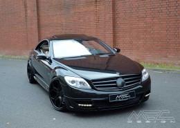 C216 W216 CL Mercedes Tuning AMG Bodykit Felgen Auspuff Spurverbreiterung Carbon