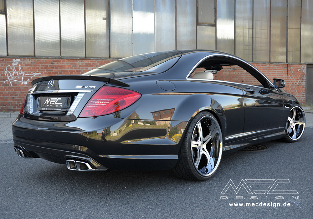 Cl63 Amg With Mecxtreme3 3 Piece Wheels