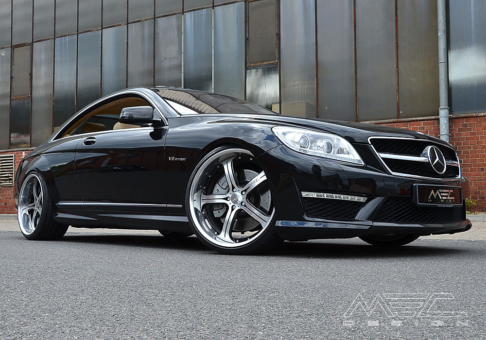 Cl600 bi turbo with mecxtreme3 3 piece wheels mec design for Mercedes benz c300 turbo kit
