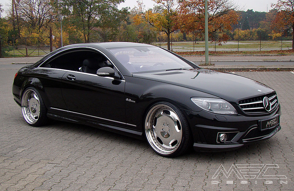 Cl63 Amg With Mecxtreme1 3 Piece Wheels Mec Design