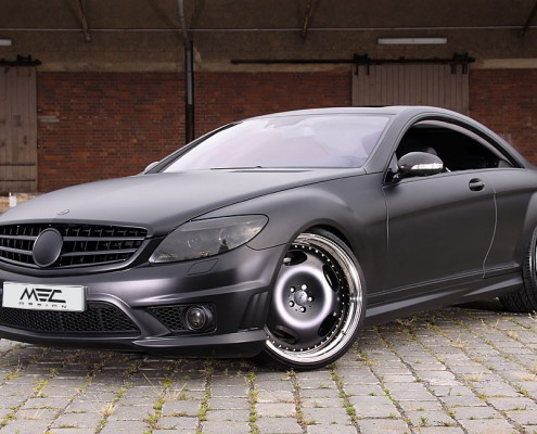 CL63 AMG with mecxtreme1 wheels