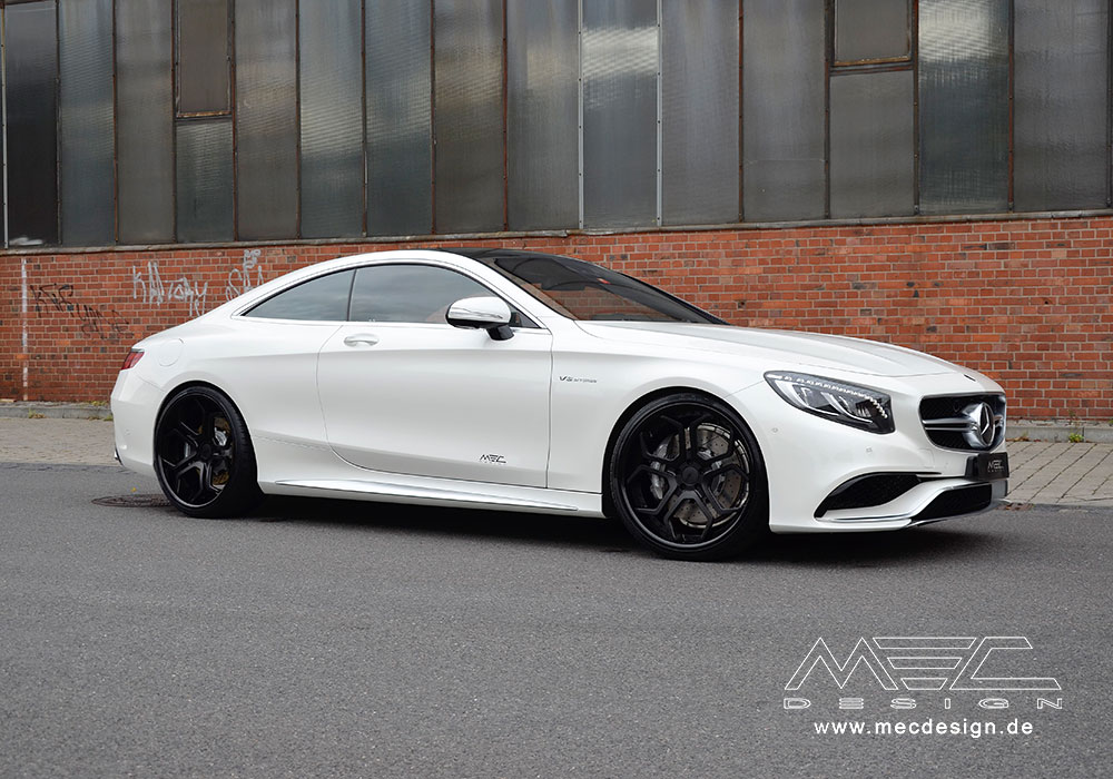 S63 Amg Coup 233 With Cc5 Wheels Mec Design