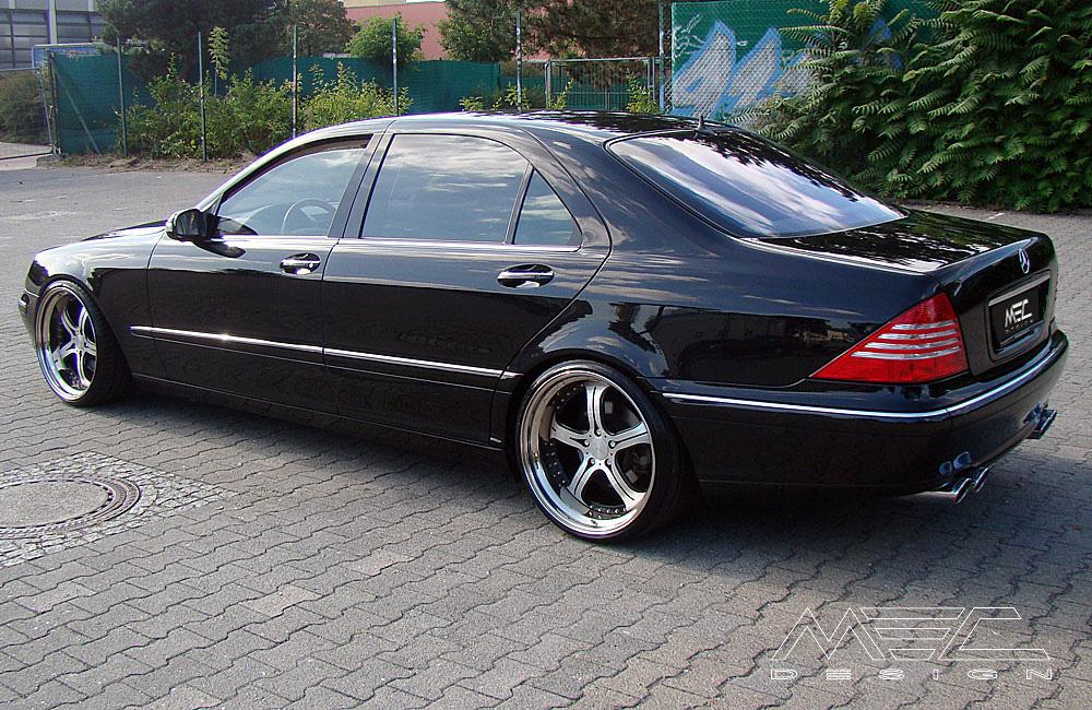 Wheels Exhaust Spacer Carbon W220 V220 S Klasse Mercedes Tuning AMG Bodykit Felgen Auspuff Spurverbreiterung
