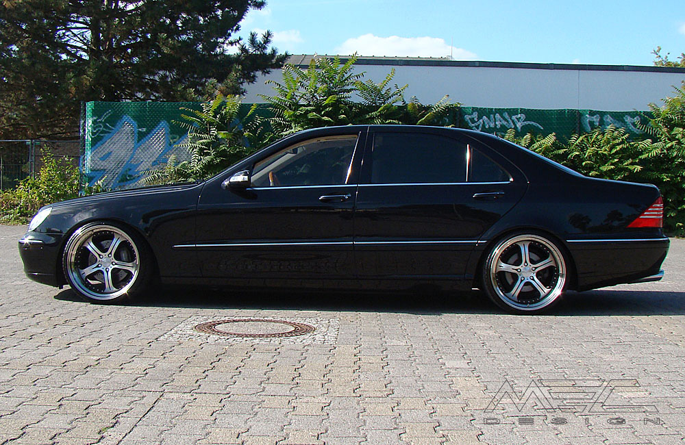 S500 With Mecxtreme3 3 Piece Wheels