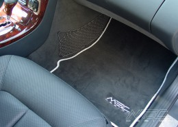W220 V220 S-Klasse Mercedes Tuning AMG Interieur Carbon Leder
