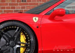 MEC Design Ferrari 458 Side Indicators in black