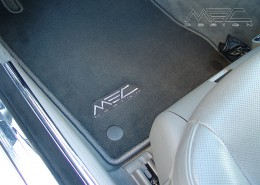 W211 S211 E-Klasse Mercedes Tuning AMG Interieur Carbon Leder