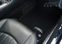 W211 S211 E Class Mercedes Tuning AMG Interior Carbon Leather