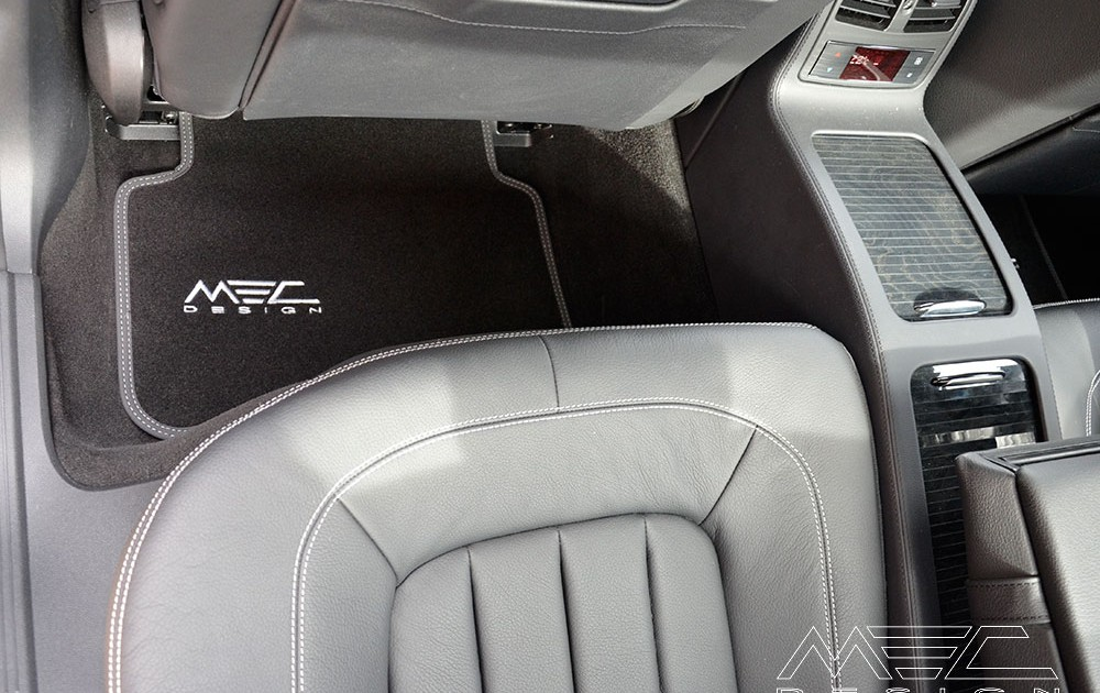 MEC Design boot floor mat in precious velours