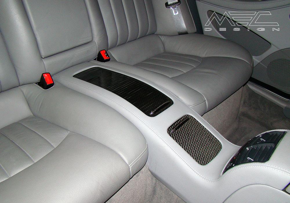 Mec Design Carbon Fibre Interior Parts on Mercedes Benz Sport