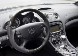 R230 SL Roadster Mercedes Tuning AMG Interior Carbon Leather
