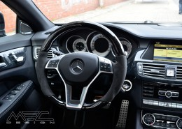 C218 X218 CLS Shooting Brake Mercedes Tuning AMG Interieur Carbon Leder