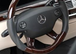 C216 W216 CL Mercedes Tuning AMG Interieur Carbon Leder