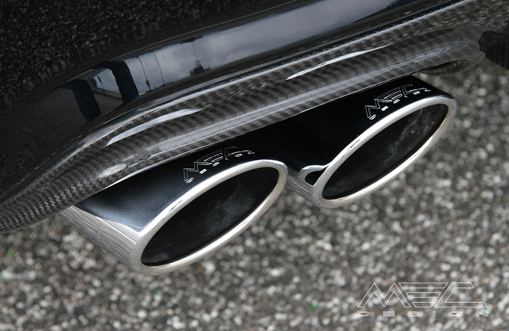 Powerful Exhaust Systems for your Mercedes Benz W204
