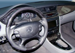 W219 CLS Mercedes Tuning AMG Interior Carbon Leather