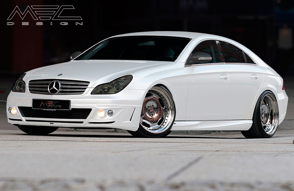 Cls55 Amg With Bodykit And Mecxtreme1 3 Piece Wheels Mec