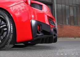 MEC Design Ferrari 458 rear diffuser, with underride protection, 3 piece