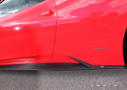 MEC Design Ferrari 458 Side Skirt-Extensions, set