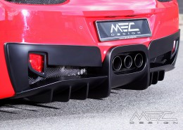MEC Design Ferrari 458 rear diffuser, with underride protection, 3 piece