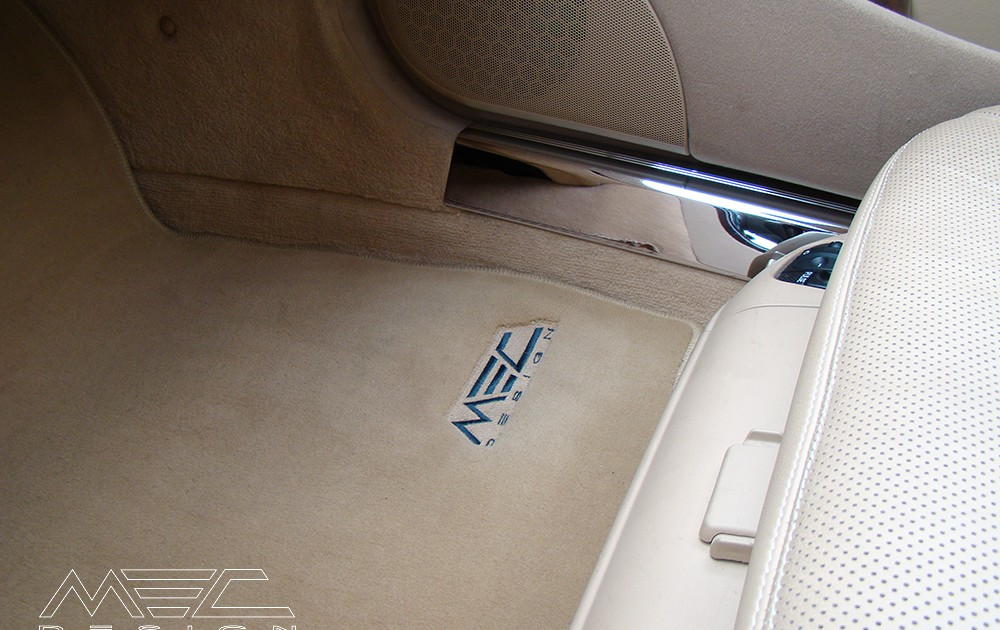 Luxury Floor Mats For Your Mercedes Benz C215