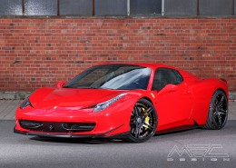 MEC Design Ferrari 458 side skirt panels, set, for the 458 Italia + Spider (not Speciale)