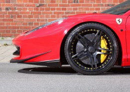 "MEC Design Ferrari 458 spoiler corners ""ears"" for front opening, set for the 458 Italia + Spider (not Speciale)"